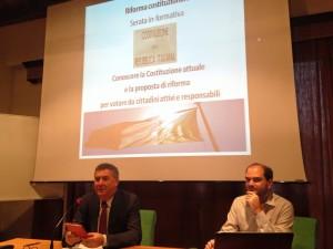 Gianfranco Maglio e Alessandro Simonato