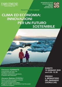 18 01 2020 fare comune clima ed ecomnomia